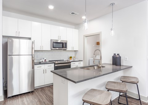 RM West II kitchen finishes