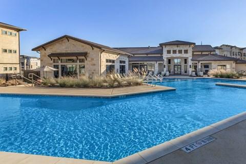 Agora Stone Oak Pool