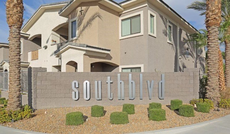 Welcoming Property Signage at South Blvd, Nevada