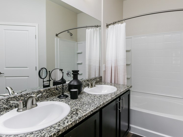 Bathroom at South Blvd, Las Vegas, Nevada