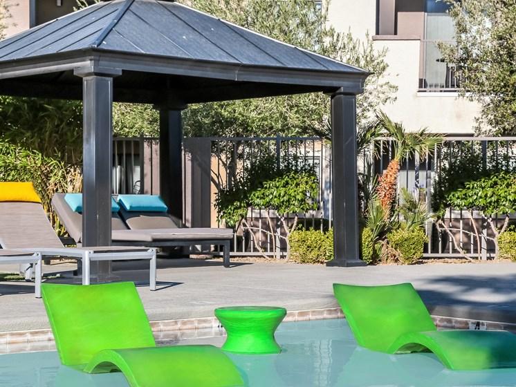 pool at South Blvd, Las Vegas
