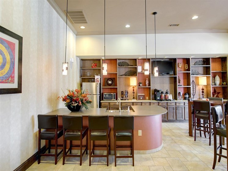 Clubhouse With Catering Kitchen at Palm Valley Apartments, Texas, 78665