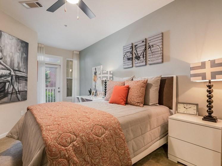 Spacious Bedroom With Comfortable Bed at Sorelle, Atlanta