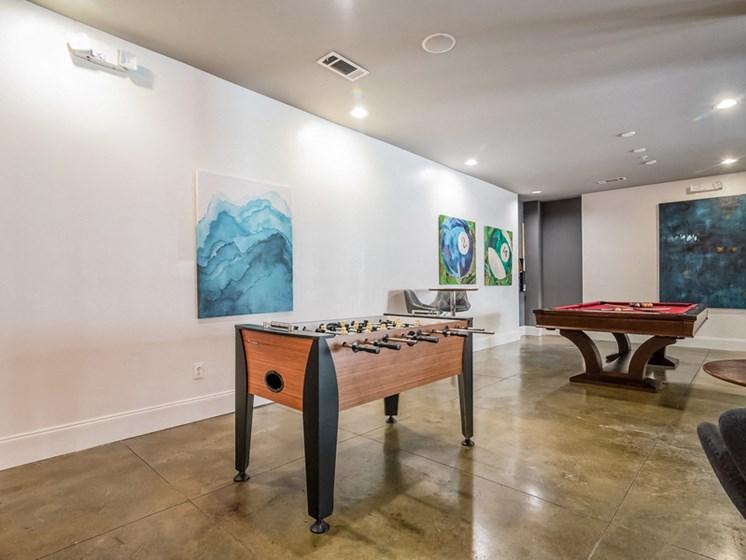 Community Game Room at Sorelle, Atlanta, GA, 30324