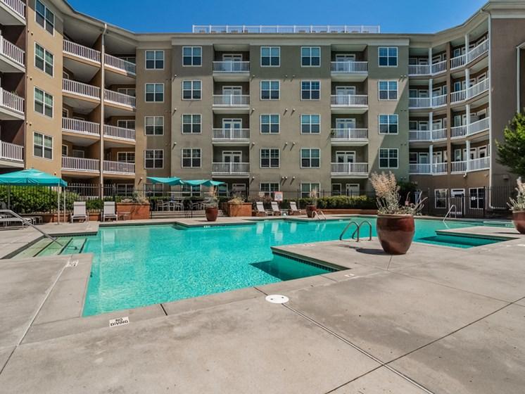 Swimming Pool With Relaxing Sundecks at Sorelle, Atlanta, GA