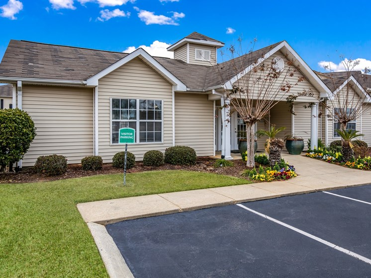 Leasing Center External View at Bay Park Apartments, Bay St. Louis, MS, 39520