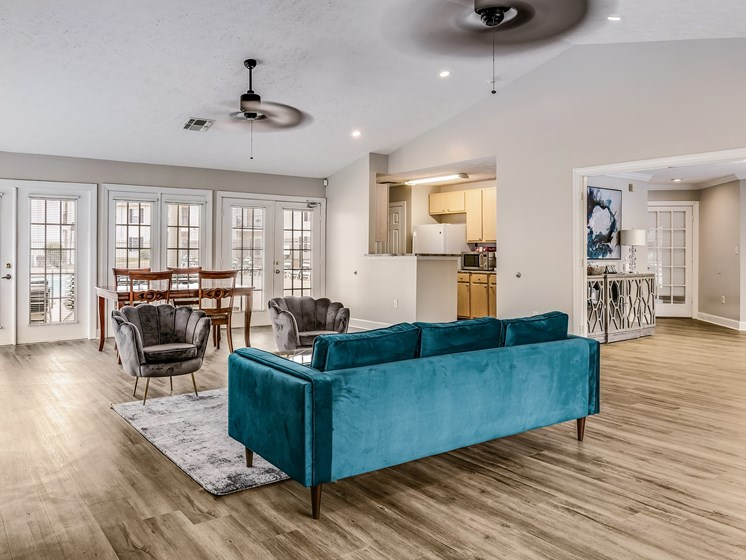 Leasing Office at Bay Park Apartments, Bay St. Louis, MS