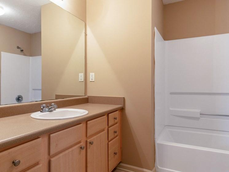 Model Bathroom at Bay Park Apartments, Bay St. Louis, 39520