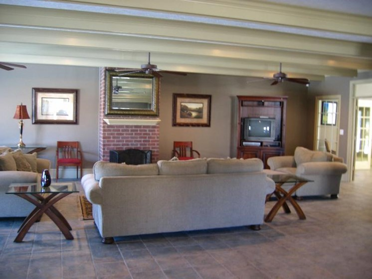 Beautiful Clubhouse at Cypress Park Apartments, Columbus