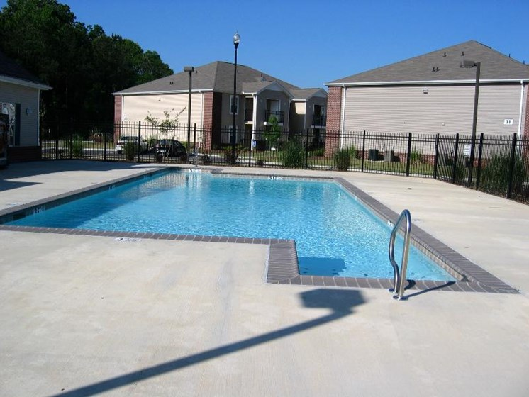 Swimming Pool at Cypress Park Apartments, Columbus, Mississippi