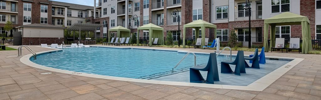 Swimming Pool at Apartments @ Eleven240, Charlotte, NC