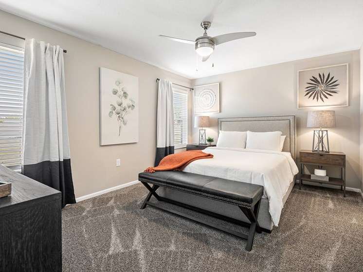 Texas Township MI apartment rentals Redwood Texas Township Main Bedroom