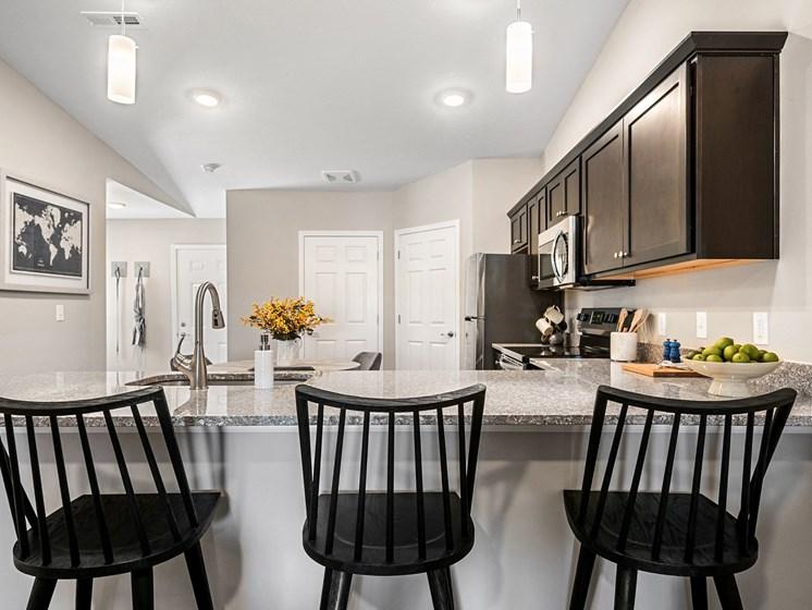 Texas Township MI apartment rentals Redwood Texas Township Kitchen