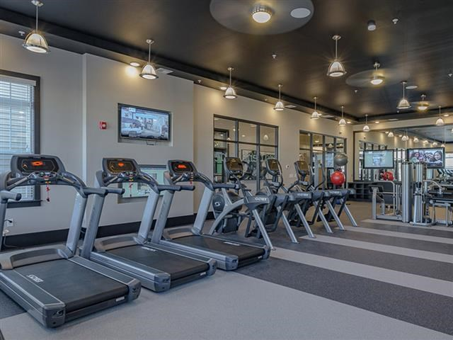 Cardio Machines In Gym at Abberly Square Apartment Homes, Maryland, 20601