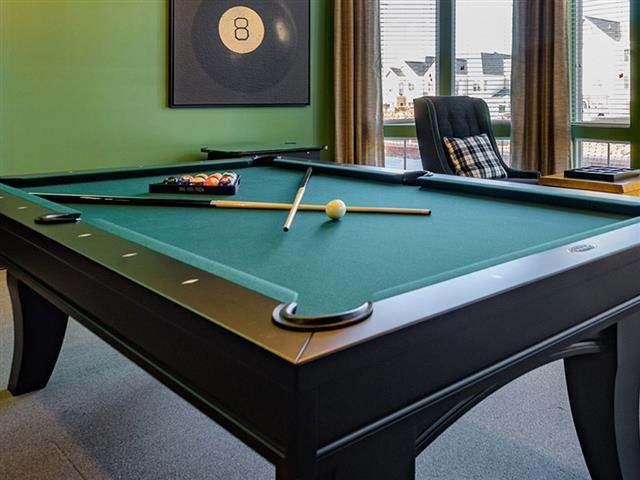 Billiards Table at Abberly Square Apartment Homes, Maryland