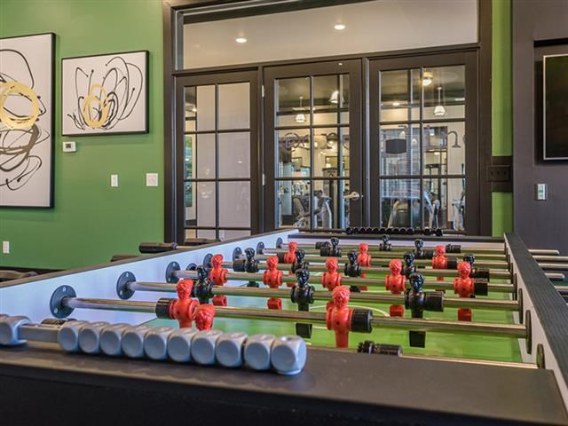 Fuse ball Table  at Abberly Square Apartment Homes, Waldorf