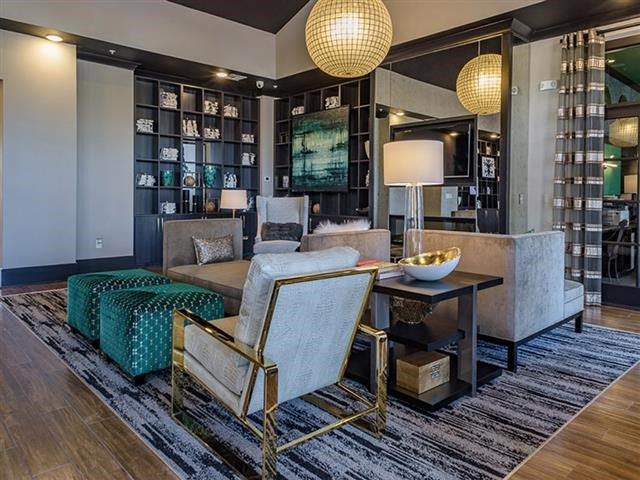 Clubroom With Smart Tv And Ample Of Sitting Area at Abberly Square Apartment Homes, Waldorf, Maryland