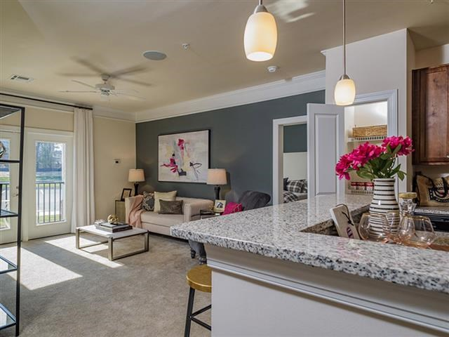 Modern Lightning In Kitchen at Abberly Square Apartment Homes, Waldorf, MD, 20601