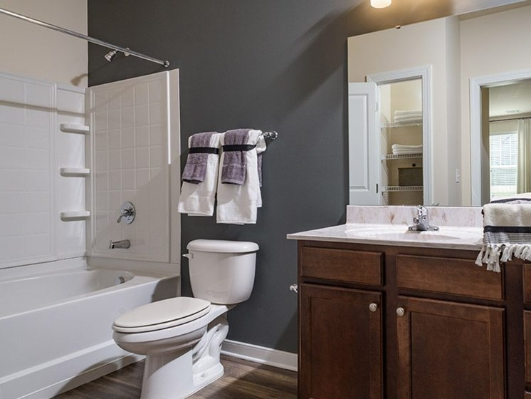 Bathroom With Bathtub at Abberly Square Apartment Homes, Maryland, 20601