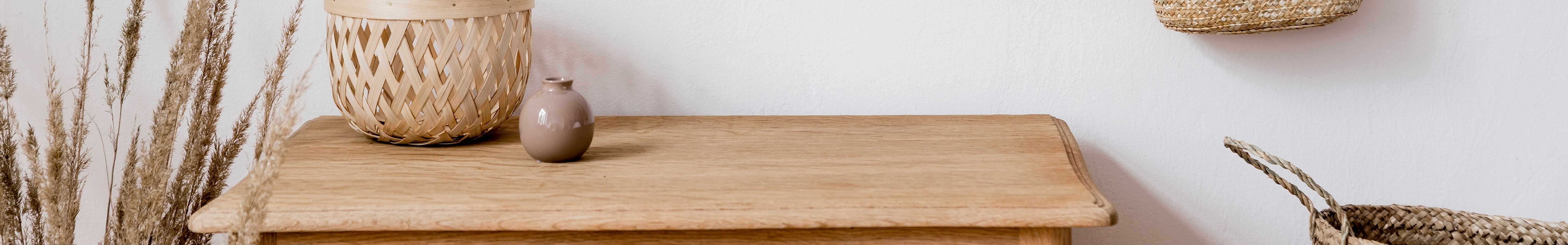 Stock Image Of Wooden Table at Woodbridge Apartments, Chesapeake, Virginia