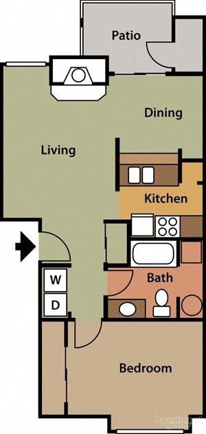Floor Plan 1C
