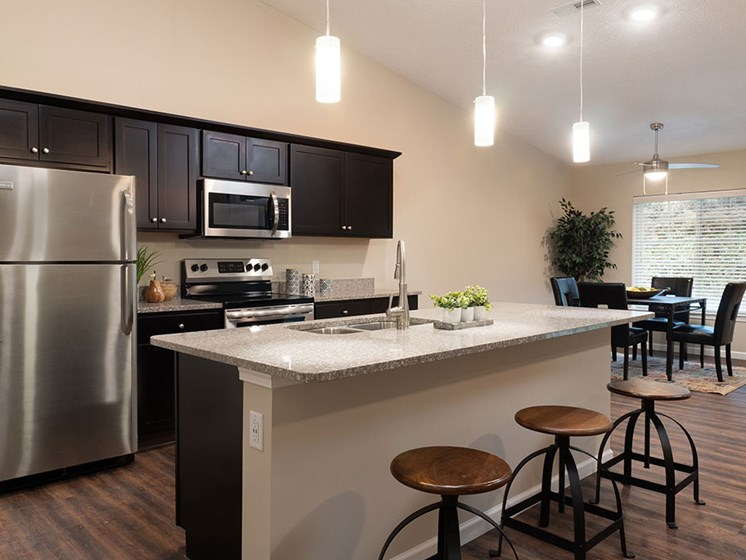 Copley Ohio Apartment Rentals Redwood Copley Willowood Open Kitchen Island