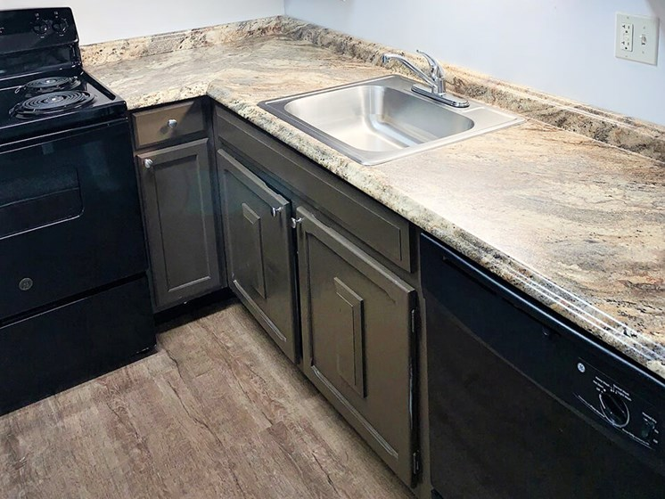 kitchen with dishwasher in Kettering