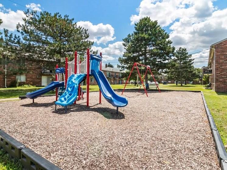Playground at Warren Club Apartments