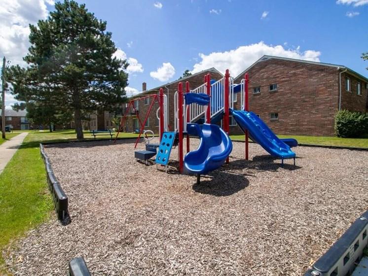apartment community playground in Warren