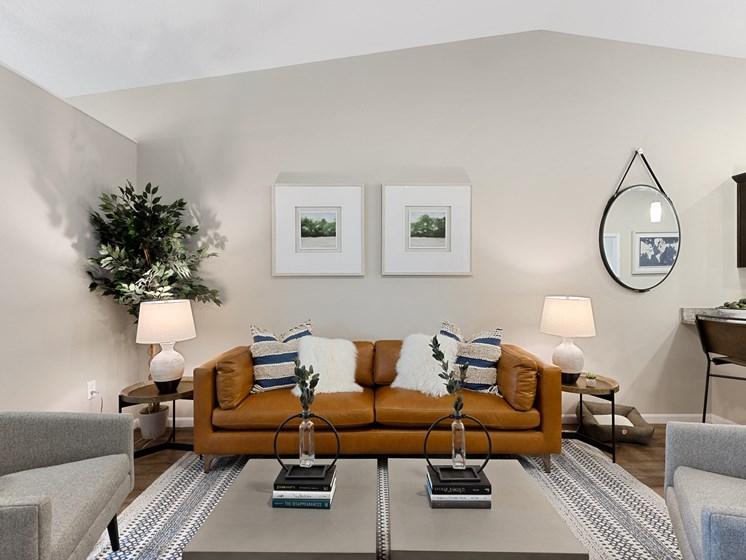 DeWitt Michigan Apartment Rentals Redwood DeWitt Living Room