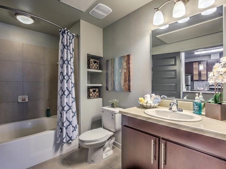 Luxurious Bathroom at The Vineyards at Paseo del Sol, Temecula, California