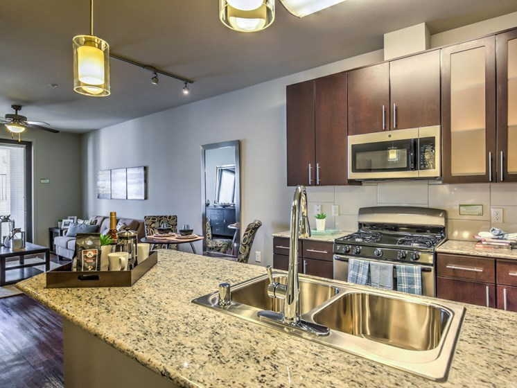 Granite Counter Tops In Kitchen at The Vineyards at Paseo del Sol, Temecula, 92592