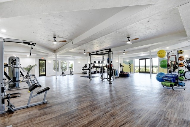 Fitness center at Meritage at Steiner Ranch, Texas, 78732