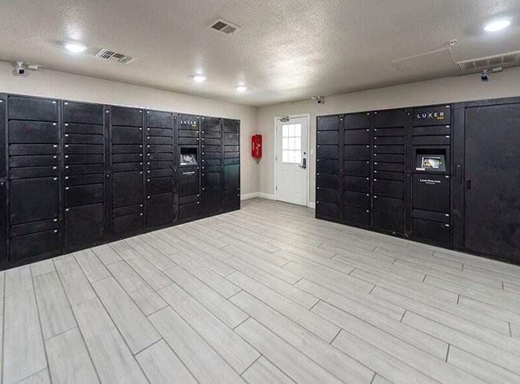 Package lockers at 8181 Med Center, Houston, TX, 77054