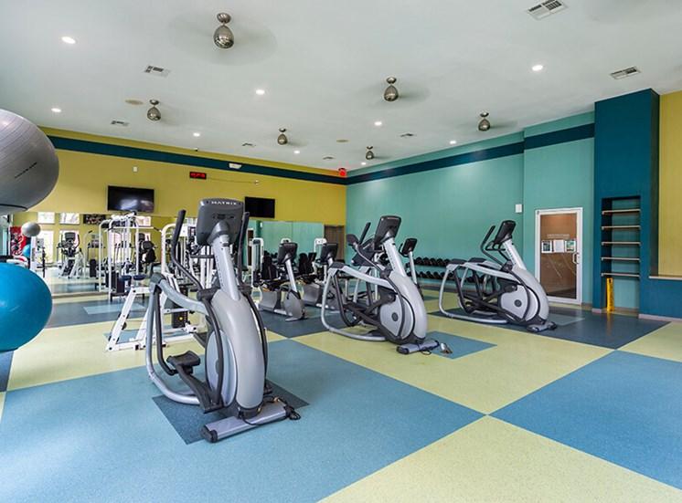 Fitness Center Cardio Equipment at 8181 Med Center, Houston