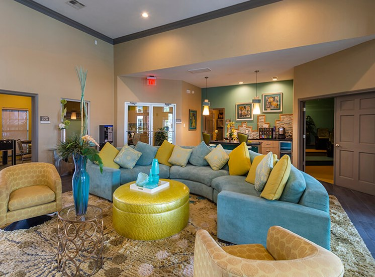 resident lobby at 8181 Med Center, Houston, 77054