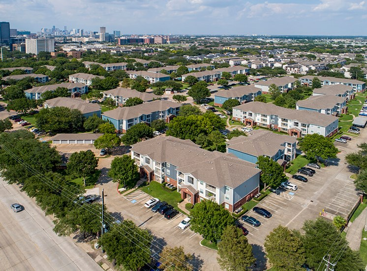 birds eye exterior property at 8181 Med Center, Houston, TX