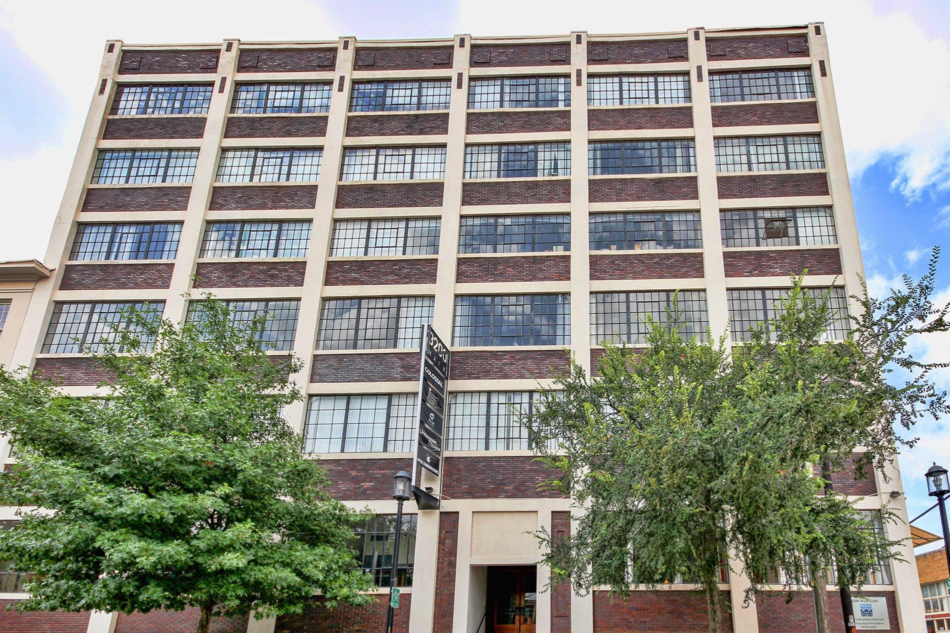 3200 Main Lofts Exterior at Deep Ellum Lofts, Dallas, Texas, TX