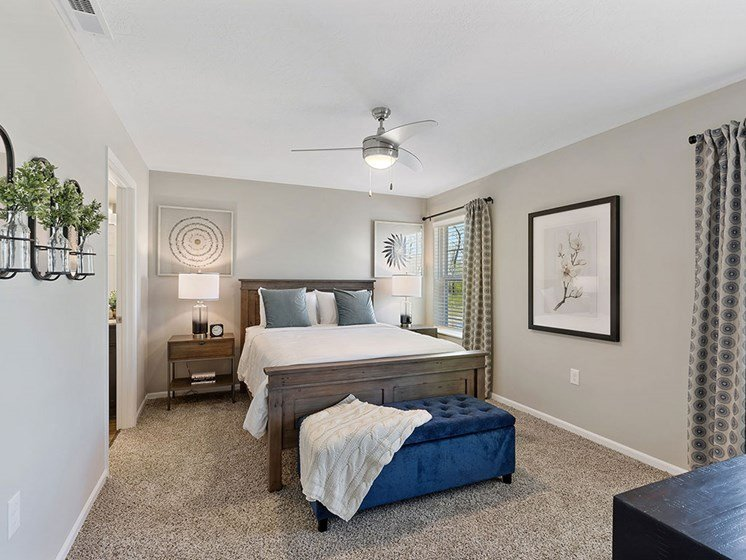 Charlotte North Carolina Apartment Rentals Redwood Living Redwood Charlotte Ridge Road Main Bedroom
