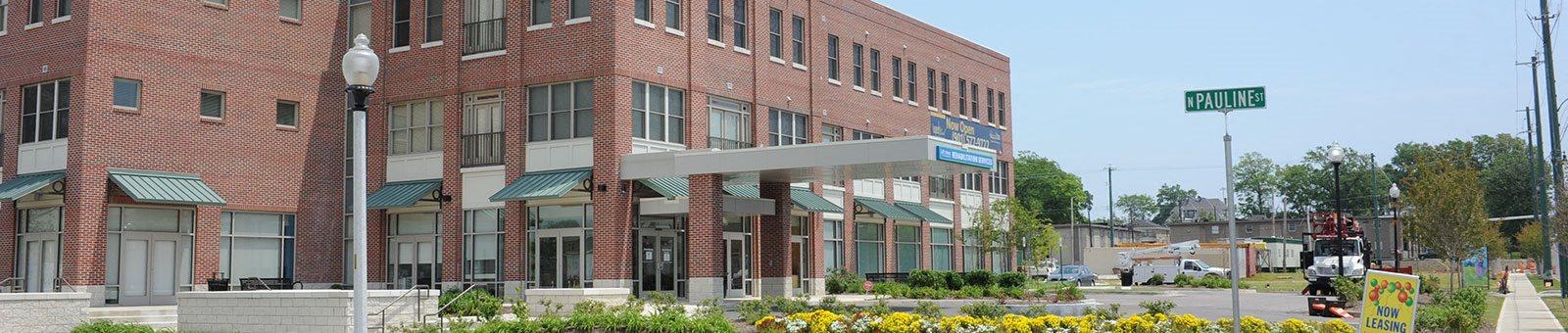 Exterior of Quimby Plaza Apartments-Quimby Plaza Apartments Memphis, TN