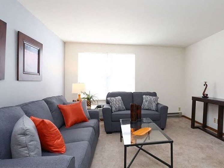 Town & Country Apartments - living room