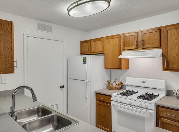 Efficient Appliances In Kitchen