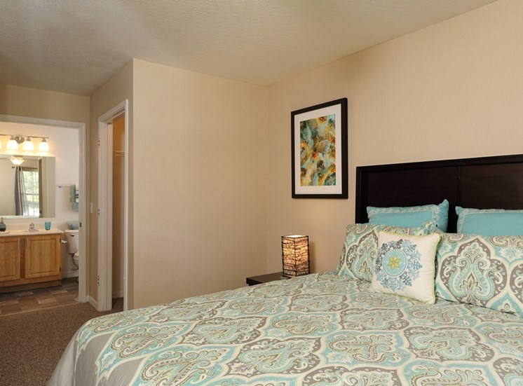 Bedroom With Adequate Storage