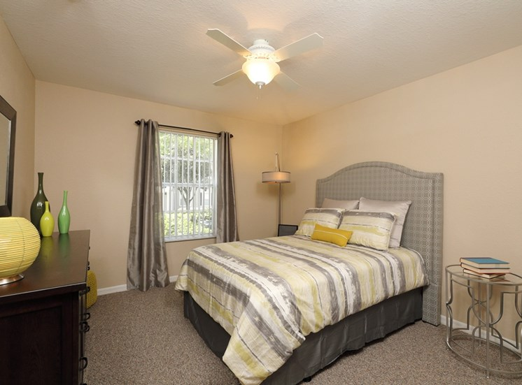 Comfortable Bedroom With Accessible Closet