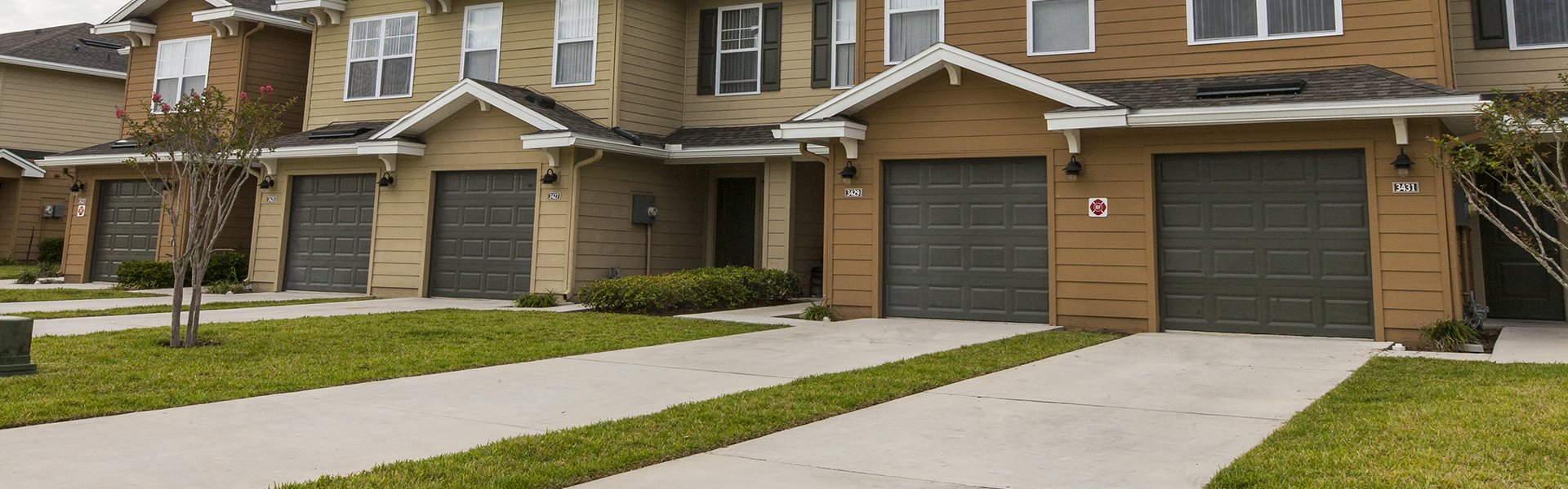 Ample Parking Area And Detached Garages Available