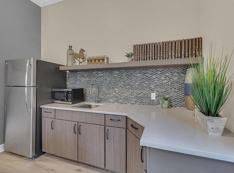 White Appliances In Kitchen