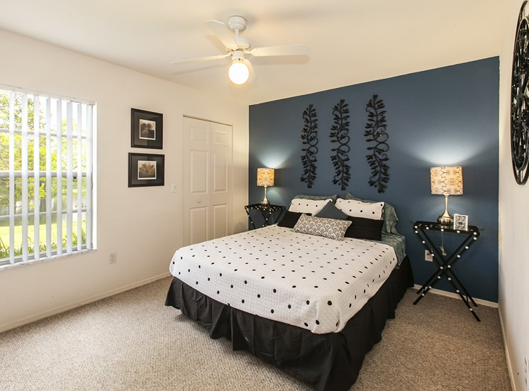 Master Bedroom With Adequate Storage