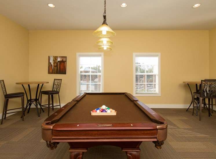 Modern Clubhouse With A Game Room
