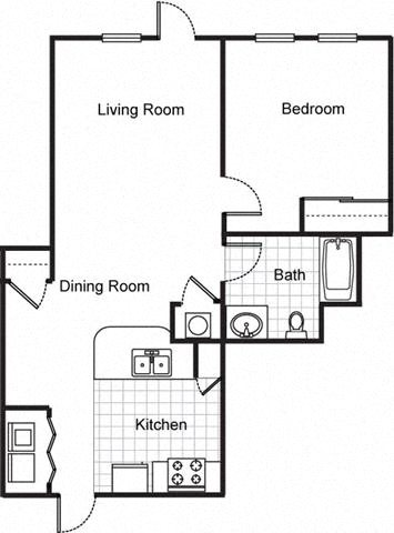 Floor Plans Of Northpark At Scott Carver Apartments In Miami Fl