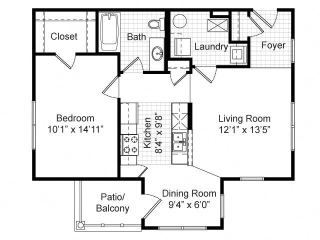 Floor Plans Of Renaissance Place At Grand Apartments In St Louis Mo